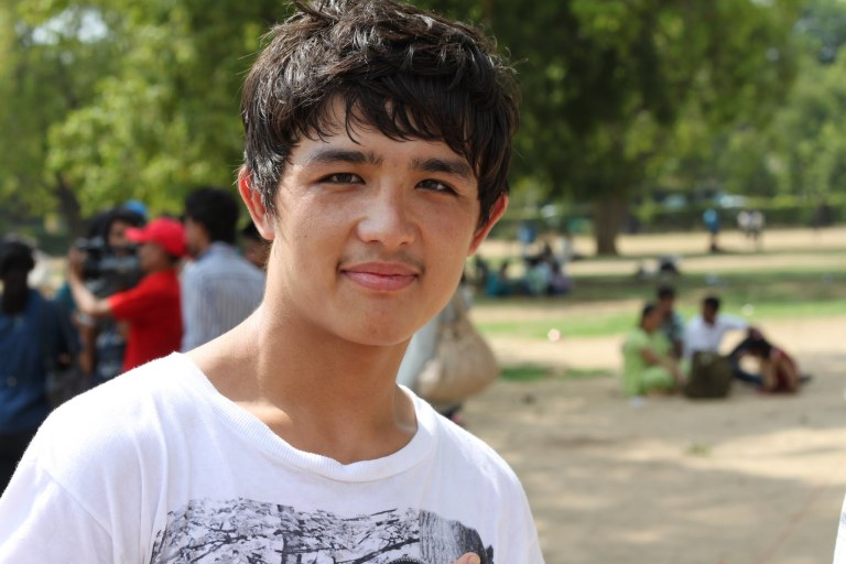 Afghani boy in Delhi - click on the photo for more