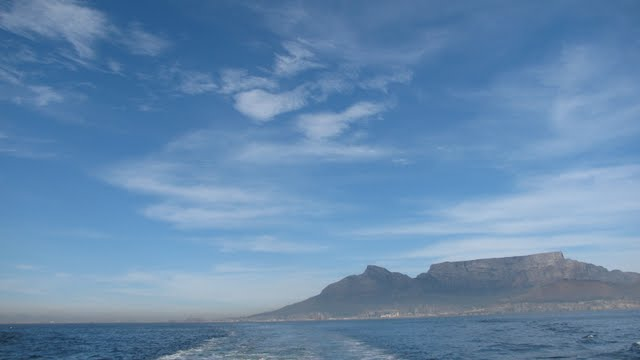 View towards Table mountain - click on the photo for more