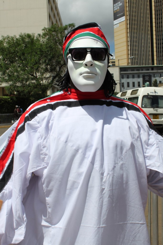 Protester of Pawa 254 - click on the photo for more